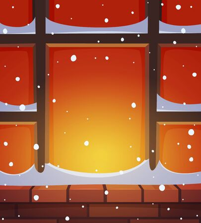 building bricks: Retro Window in Snow