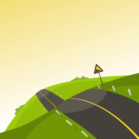 road trip: Steep Road