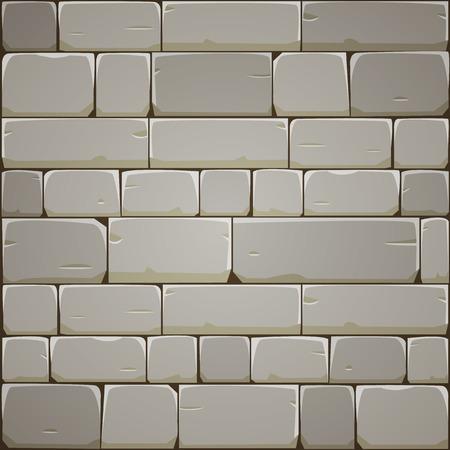 Stone Muur van het Blok