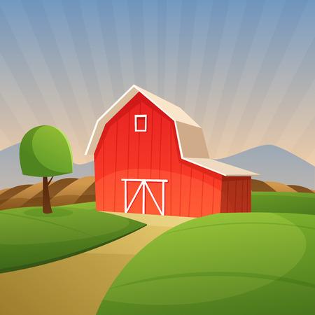fertile: Red Farm Barn