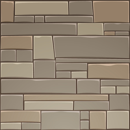 stone wall: Stone Wall Illustration