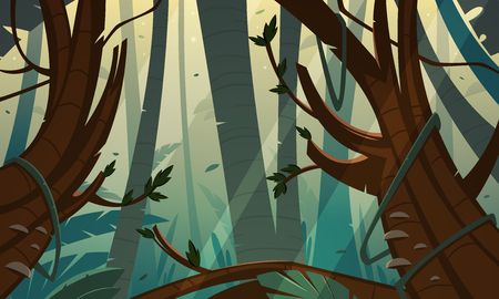 rainforest: Tropical Rainforest Jungle Illustration
