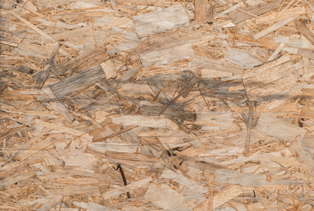 oriented: texture of oriented strand board Stock Photo