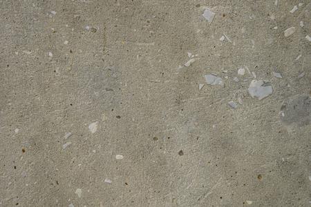 texture of old gray concrete wall with stones Zdjęcie Seryjne