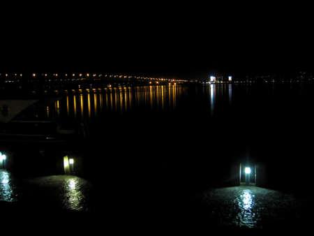 night scenery: night scenery Stock Photo