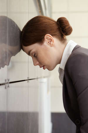 Businesswoman  Fatigue
