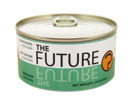 Concept of future  Tin can