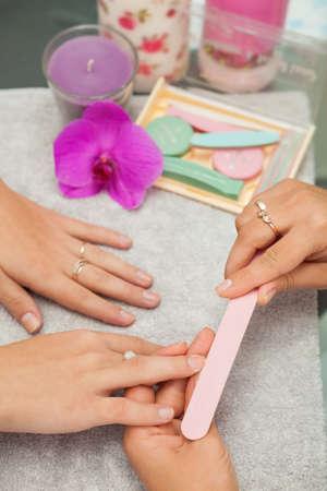 salon and spa: Spa salon. Japanese manicure.