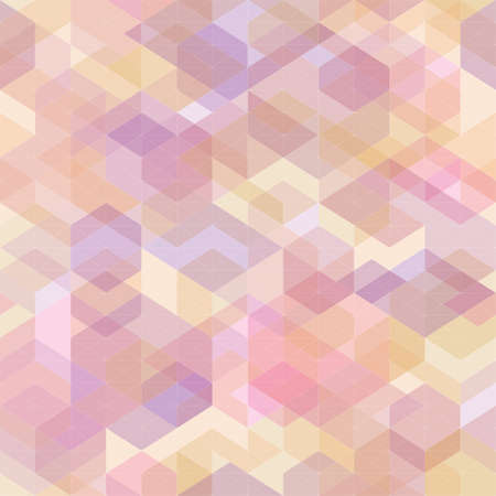 patched: Abstract geometric with polygons  Illustration