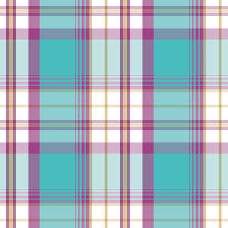 holey: Vector tartan textile texture.