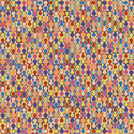 patched: Abstract vector colorful geometric background.