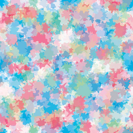 patched: Abstract artistic background with colorful spots.