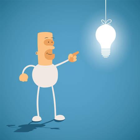 creativity concept: Creativity concept. Knowledge is light.