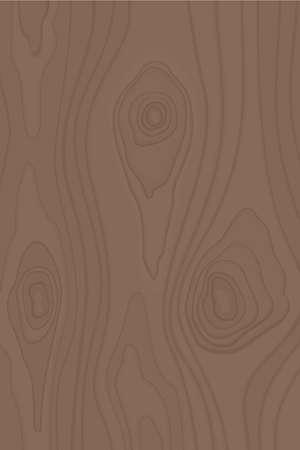 Simple vecteur texture bois dans un style plat Vecteurs