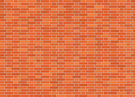 Vector seamless monk offset bond brick wall texture  イラスト・ベクター素材
