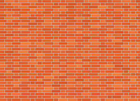 Vector seamless monk offset bond brick wall texture Ilustracja