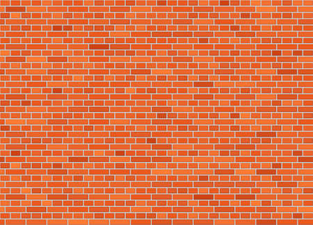 Vector seamless english bond brick wall texture