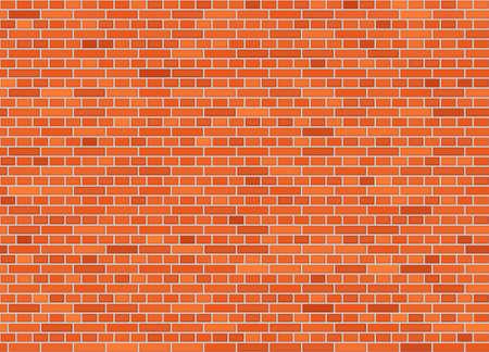 Vector seamless english bond brick wall texture