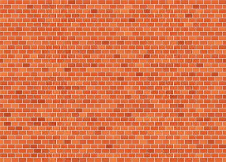 Vector naadloze klassieke header bakstenen muur textuur