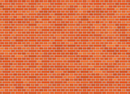 Vector seamless dutch bond brick wall texture Illustration