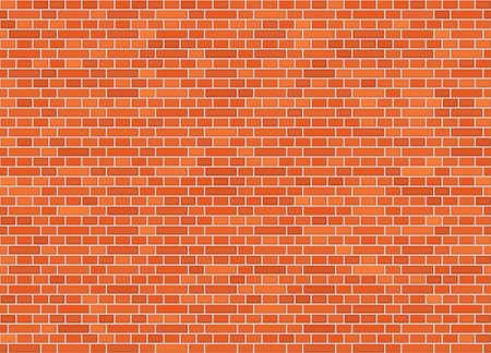 Vector seamless dutch bond brick wall texture Illustration