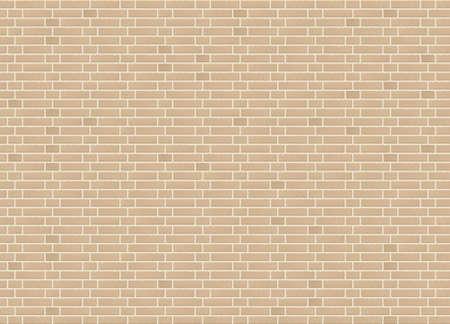 Vector seamless monk bond sandstone brick wall texture