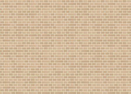 Vector seamless dutch bond sandstone brick wall texture