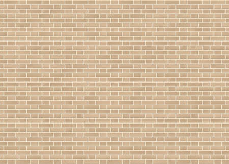 Vector seamless flemish bond sandstone brick wall texture Ilustração
