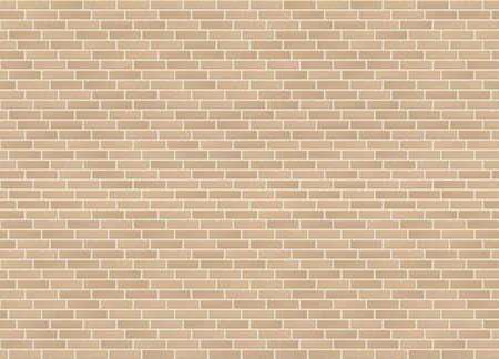 Quarter offset bond sandstone brick wall texture vector seamless. Illusztráció