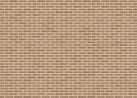 Vector seamless stretcher dark bond sandstone brick wall texture.
