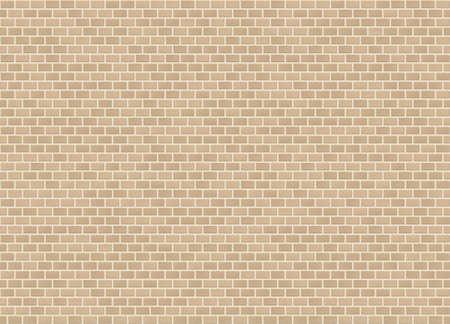 Vector seamless header bond sandstone brick wall texture.