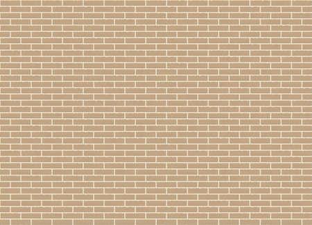 Brick wall texture design Illusztráció