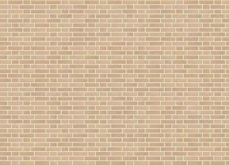 Vector seamless monk cross bond sandstone brick wall texture.