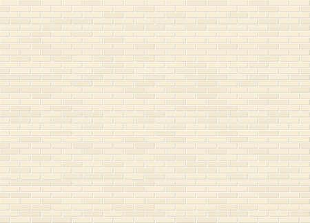 Vector seamless stretcher bond canvas color brick wall texture