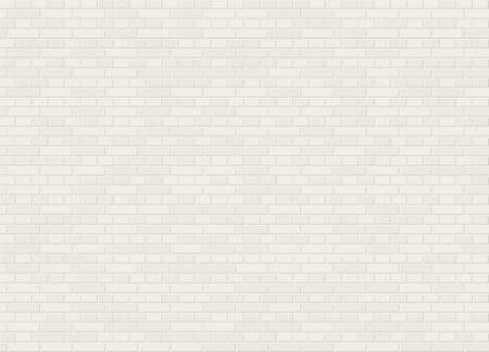 Vector seamless english classic bond white brick wall texture