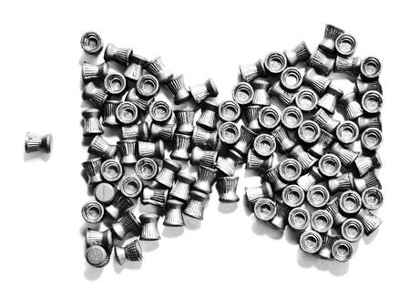 airgun: Airgun bullets
