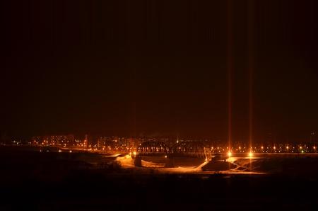 Night Bridge Standard-Bild