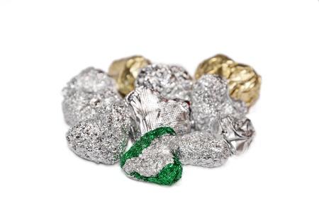 Set di cuori d'argento