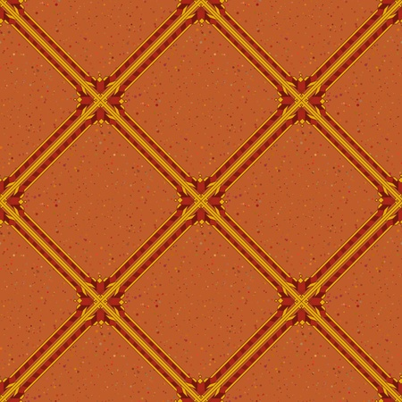 Background, abstract seamless wallpaper design with brown squares  Vector Vector