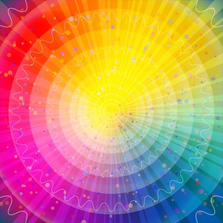 Achtergrond ontwerp, abstracte heldere regenboog magie achtergrond Vector eps10, bevat transparanten