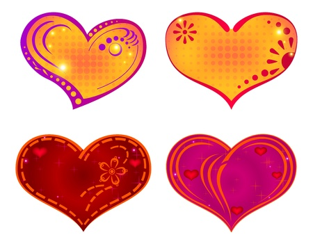 Valentine hearts Stock Vector - 14634714