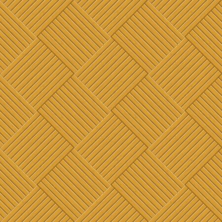 Wooden square brown parquet, seamless background  Vector Stock Vector - 19165185