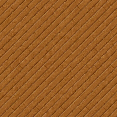 tile flooring: Seamless background, wooden brown parquet with pattern  Vector