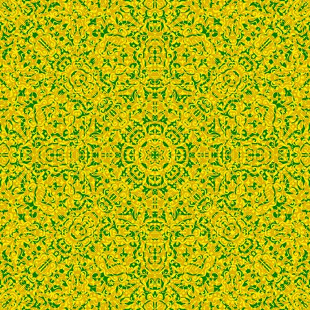 symbolical: Abstract Seamless Background with Symbolical Colorful Floral Patterns.