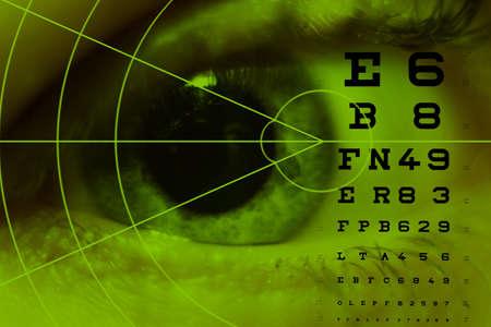 oculista: miopía astigmatismo ipermetropia prueba oculista ojos patología