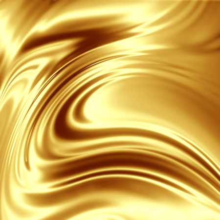 smooth: golden yellow designers texture Stock Photo
