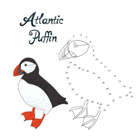Educación Para Colorear Juego Atlántico Del Doodle De La Historieta ...