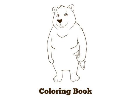 Animales Del Ártico Para Colorear Juego Educativo Libro Para Niños ...