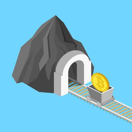 Metaphor for bitcoin design.