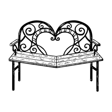 Versöhnungsbankgravur-Vektorillustration Standard-Bild - 92627893